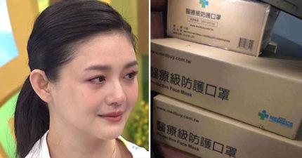 大S夫妻「狂掃日本1萬口罩」送武漢 日鄉民怒罵:混蛋台灣人!