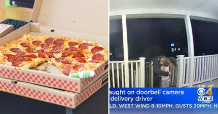 披薩外送員收到小孩「溫暖大擁抱」竟秒淚崩:我剛失去我的女兒...