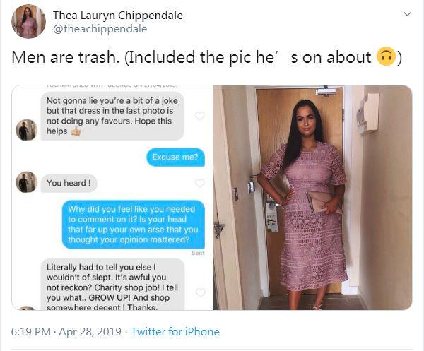 被網友酸「妳穿那件超醜」正妹無言 ASOS「直接讓她代言」霸氣登照片!