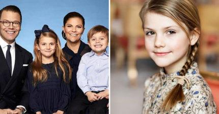 瑞典王室「氣質小公主」過8歲生日 神複製媽媽「完美基因」長大不得了!