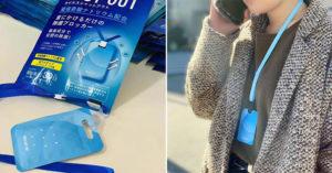日本熱銷「空氣口罩」號稱可24小時殺菌 網傻眼:難怪會淪陷