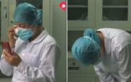 影/前線抗武肺「媽媽突離世」女護士淚崩 往家鄉「三鞠躬」忍痛繼續工作!