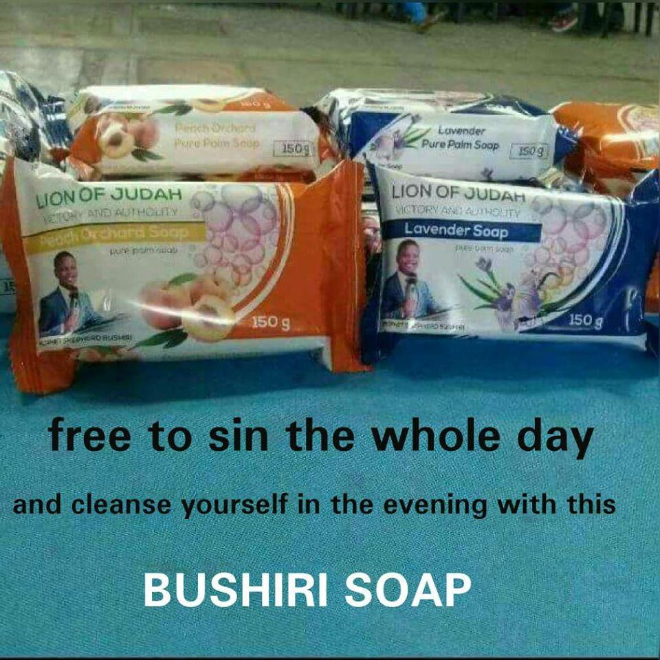 先知賣「可以洗清罪孽的肥皂」一塊1千5超熱銷 「召喚上帝」的聖水也有!
