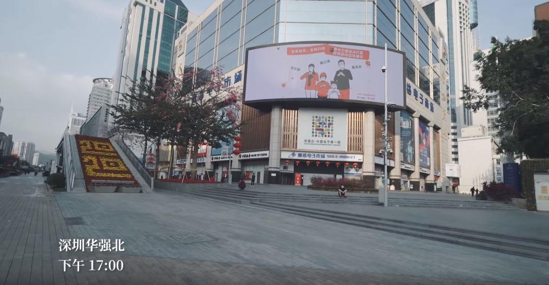 攝影師空拍「深圳封城後」街景 熱鬧商圈「變空城」:做了對的選擇!