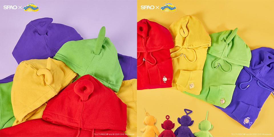 SPAO聯名推出「天線寶寶」周邊穿搭 低調粉必買「害羞室內拖」!