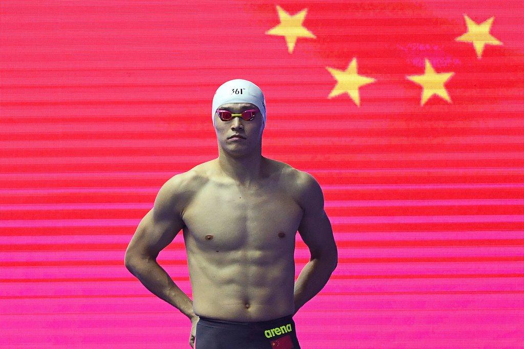 孫楊拒絕藥檢「禁賽8年」 中國泳王「恐無緣奧運」職業最大危機!!