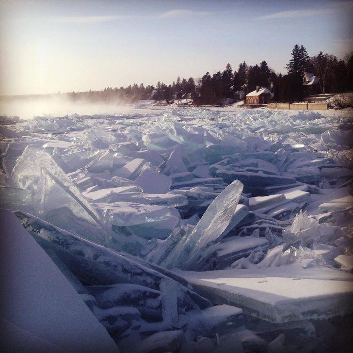 21張讓你感受到「冬天又來了」的照片 泡泡變「透明水晶球」時間被凍結!