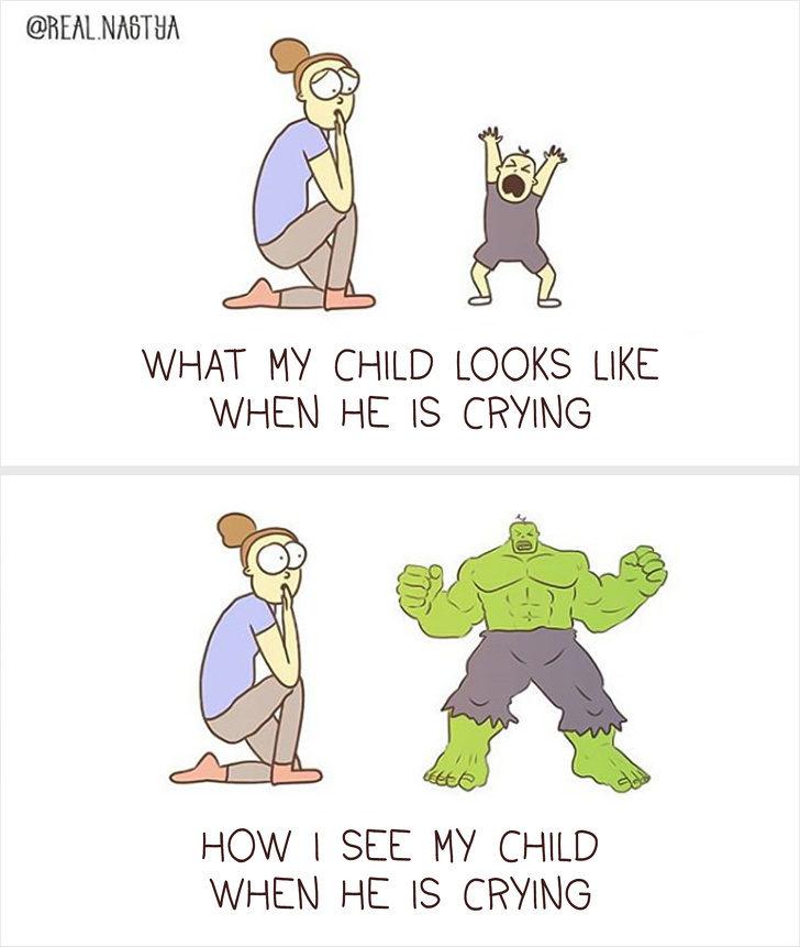 17張證明「媽媽是超人」的證據 抱小孩練到「二頭肌超完美」是常態!