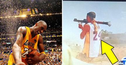 用生命致敬!士兵穿「Kobe戰袍」砲打ISIS 網友嚇傻:這才是曼巴精神