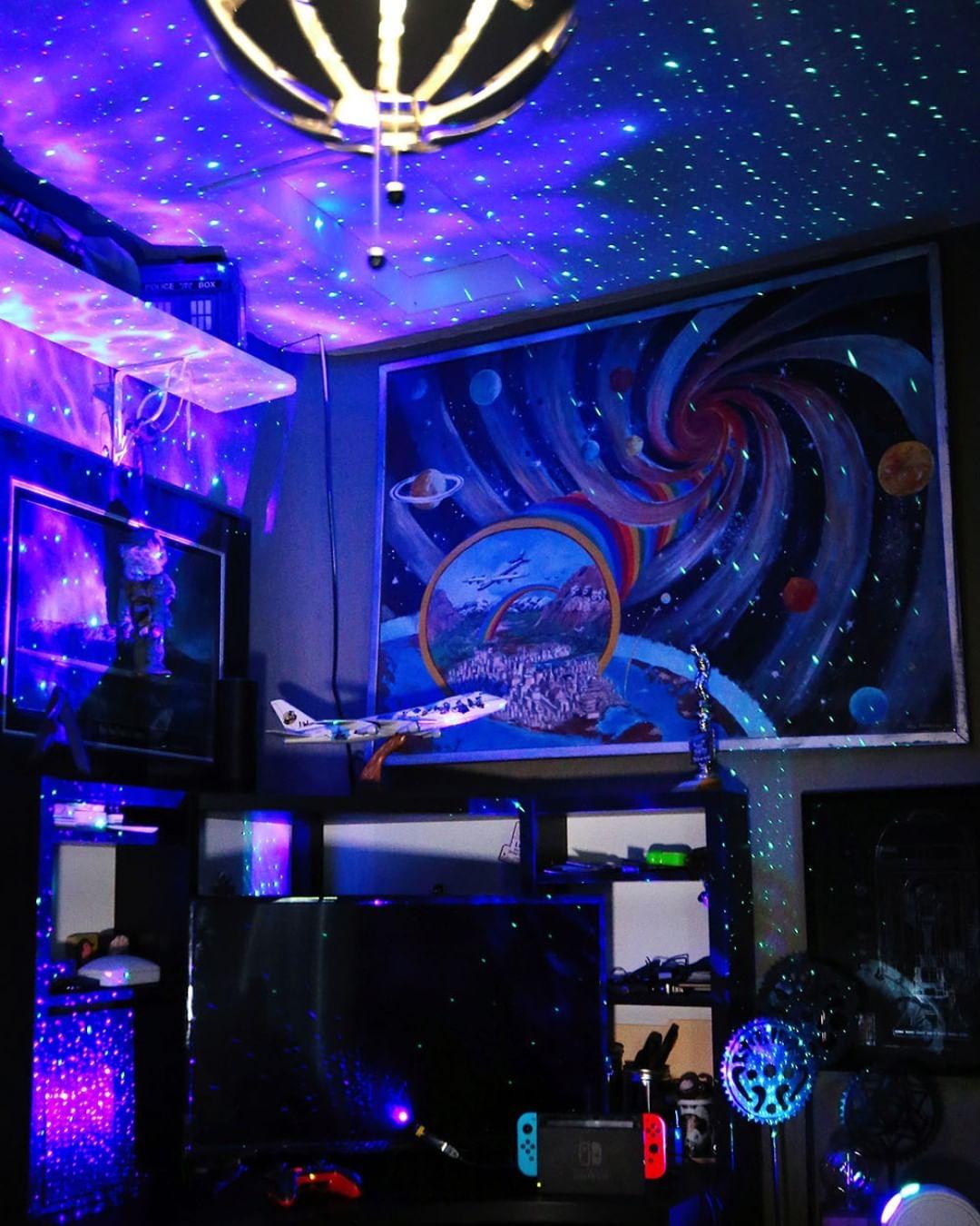 夢幻「星際夜燈」實際效果超驚人 把「整片銀河」帶進房間!