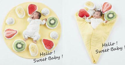 手作店推出「寶寶可麗餅小毯」地方媽咪搶瘋 隨便拍都像天使!