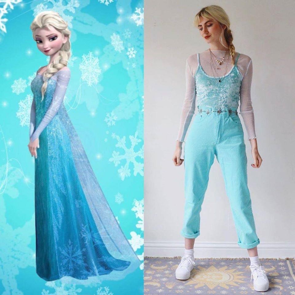 如何用「超普通日常服裝」搭出迪士尼造型 時尚版小木偶比公主還搶眼❤