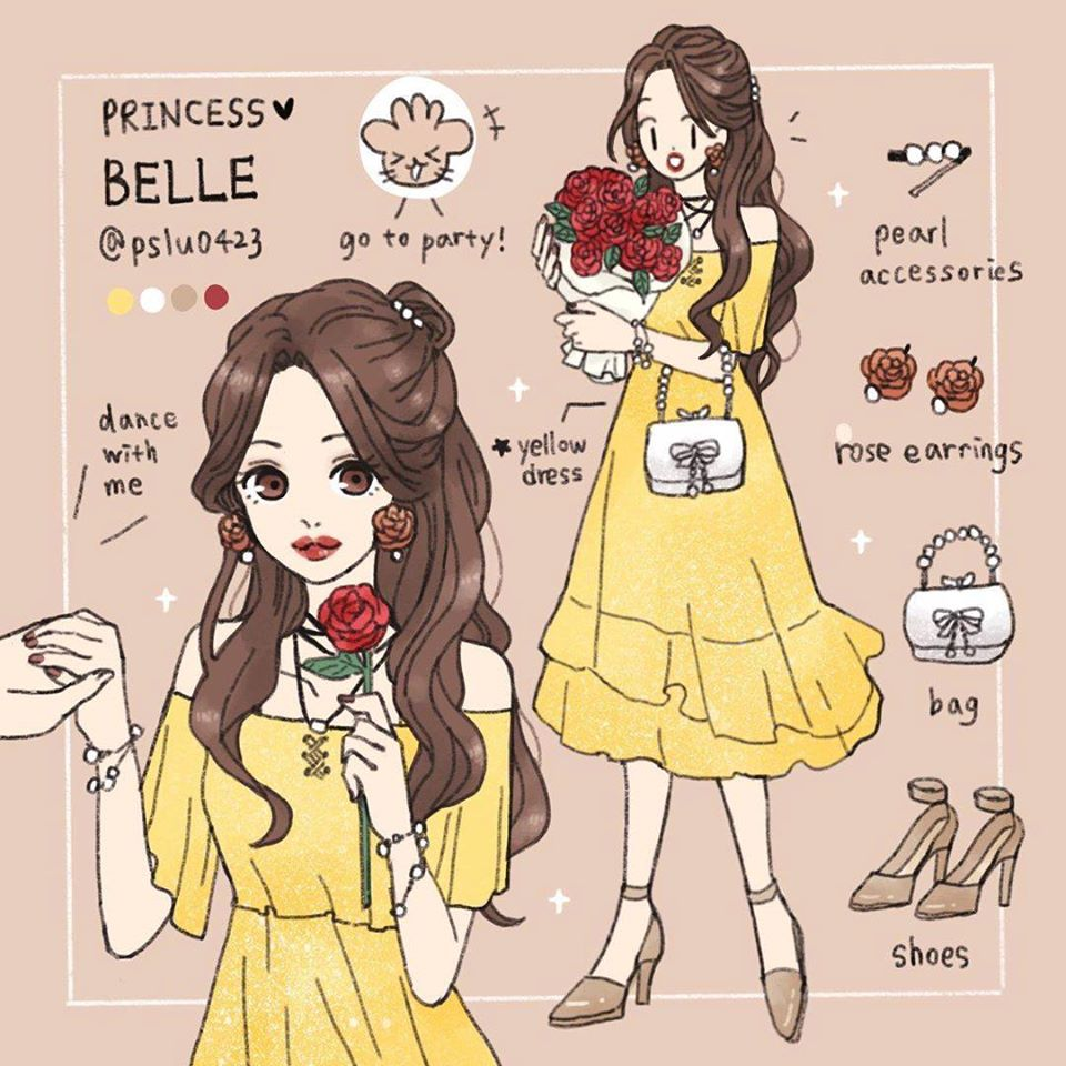 她用東區就能買到的服飾搭出「公主風時裝」 掌握「關鍵色」秒變艾莎❤