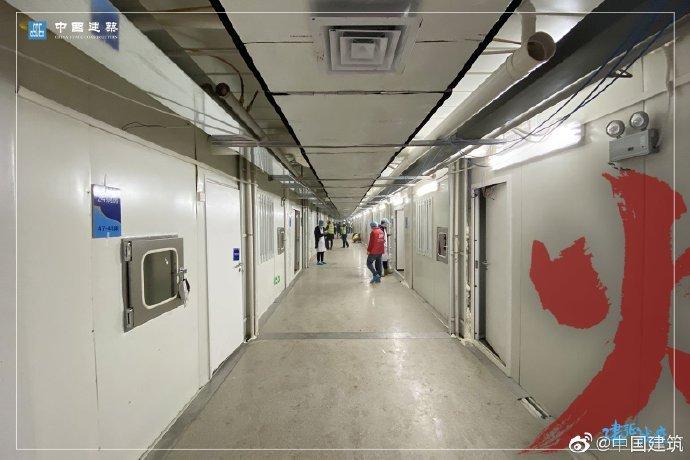 影/中國「10天蓋醫院」已正式啟用 公開「縮時過程」跟病毒搶時間!