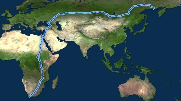影/沒人能做到!地表「最長走路距離」可環台20圈 竟花了整整3年