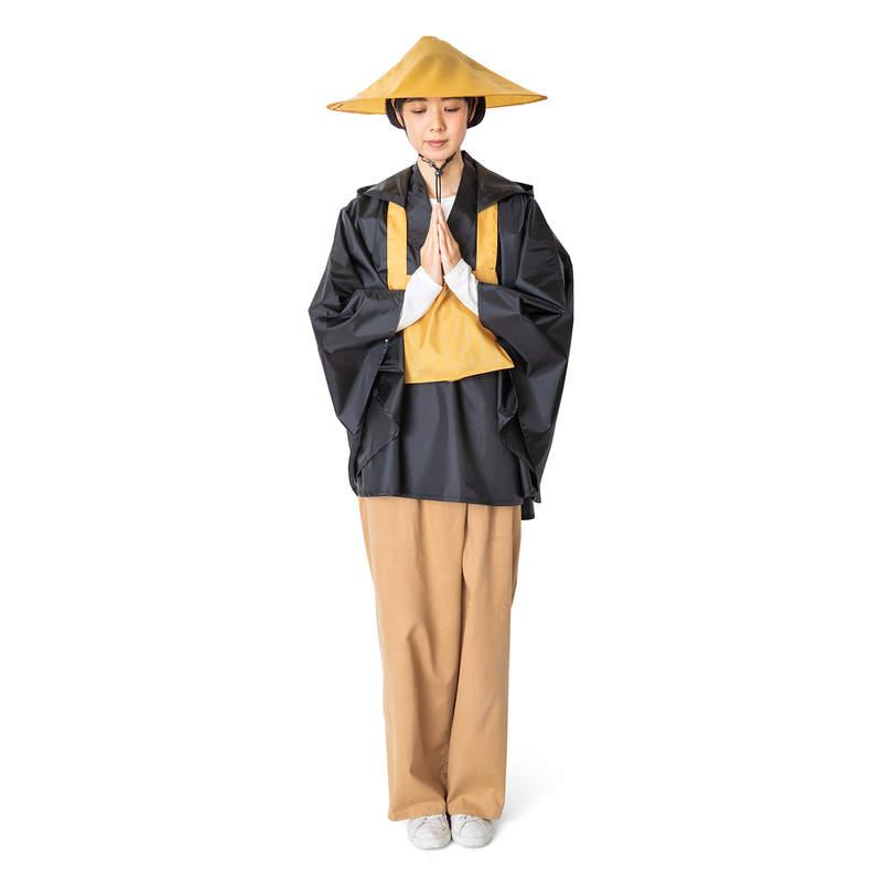 日本推出「和尚雨衣」話題十足 2種穿法「變身超帥兵長」只要一秒!