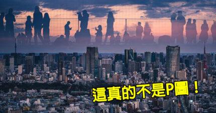 攝影師意外拍到「渺小城市vs巨人」意境照 網讚:2020最猛奇蹟!