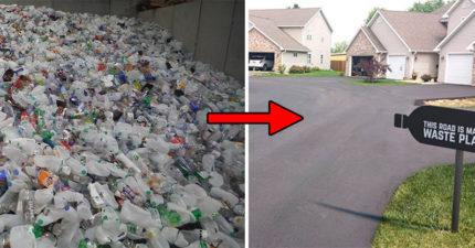 新發明「回收塑膠垃圾→鋪公路」 專家驚「比瀝青更棒」:強度高60%