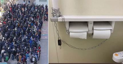 日本驚見公廁「大鎖鎖衛生紙」怕被偷 武肺「非常時期」逼出人性醜陋面!