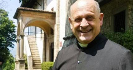 義大利確診牧師「放棄呼吸器」給年輕病患 「不幸病逝」最後仍保持微笑!