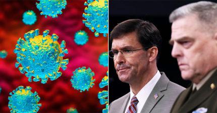 美國防部「內部文件」曝光:預估新冠肺炎「30天內全球大流行」