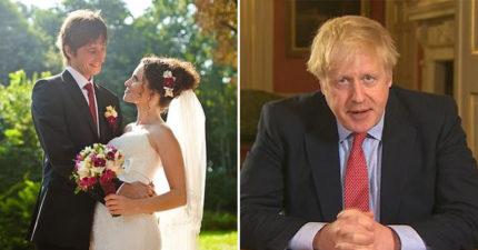 英國宣布「婚禮不准辦」首相:沒必要不能出門 但「參加葬禮」可以!