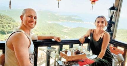 英情侶抱怨「台灣像監獄」還登報BBC 指揮中心:有損我國形象不給補償金