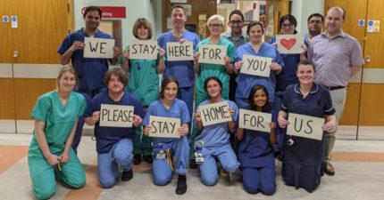 英國「4500名退休醫護」重披白袍抗武肺 政府:待在家就是最大幫助!