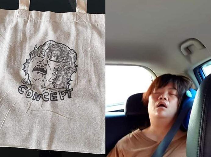 老公送「手繪環保袋」她笑不出來 網超擔心:老公快報平安!