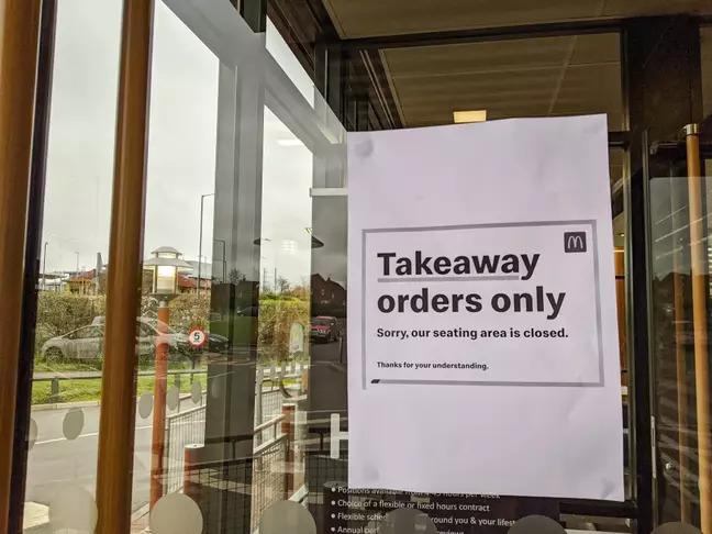 疫情延燒!麥當勞宣布「英國分店」全關閉:外帶也沒有