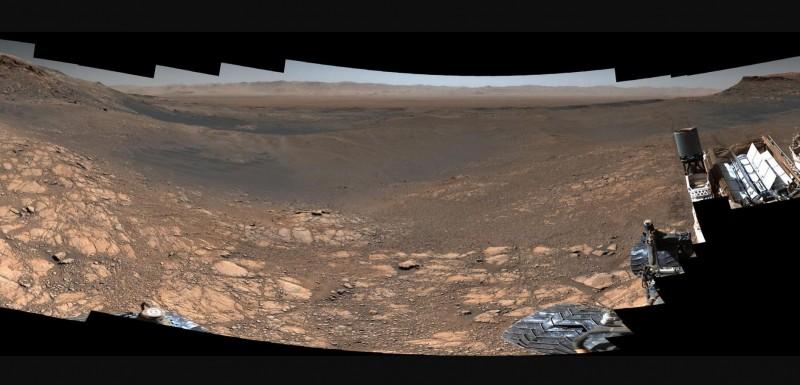NASA發佈「史上最清晰」火星照 「18億像素」高清到像站在火星直接看!
