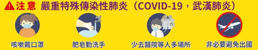 台灣「確診破百」!陳時中宣布:19日0時起「非本國人」禁止入境