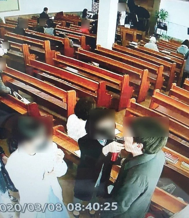 南韓教會堅信「灑鹽水能治武肺」 46人用「同1個噴嘴」一周後全確診!