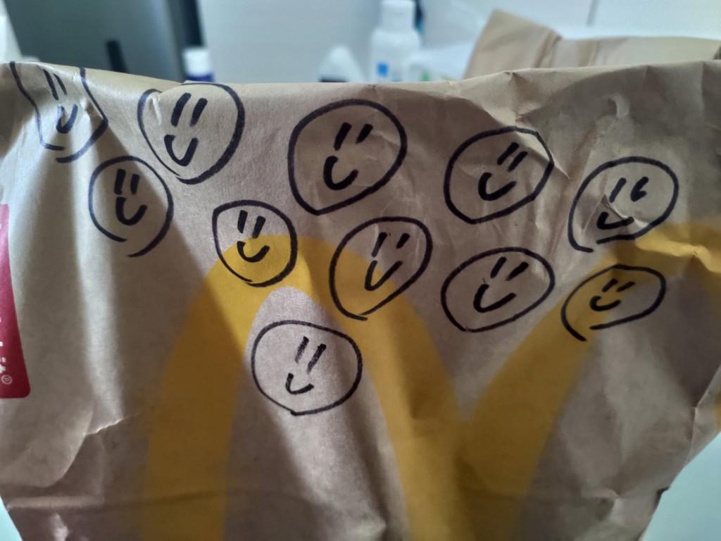 他點麥當勞隱藏菜單「0元微笑外送」意外超可愛 網友大推:我點21個!