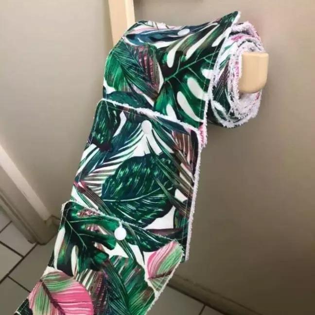 狂女研發「可重複使用的衛生紙」就像高級抹布 一捲12張售價970!
