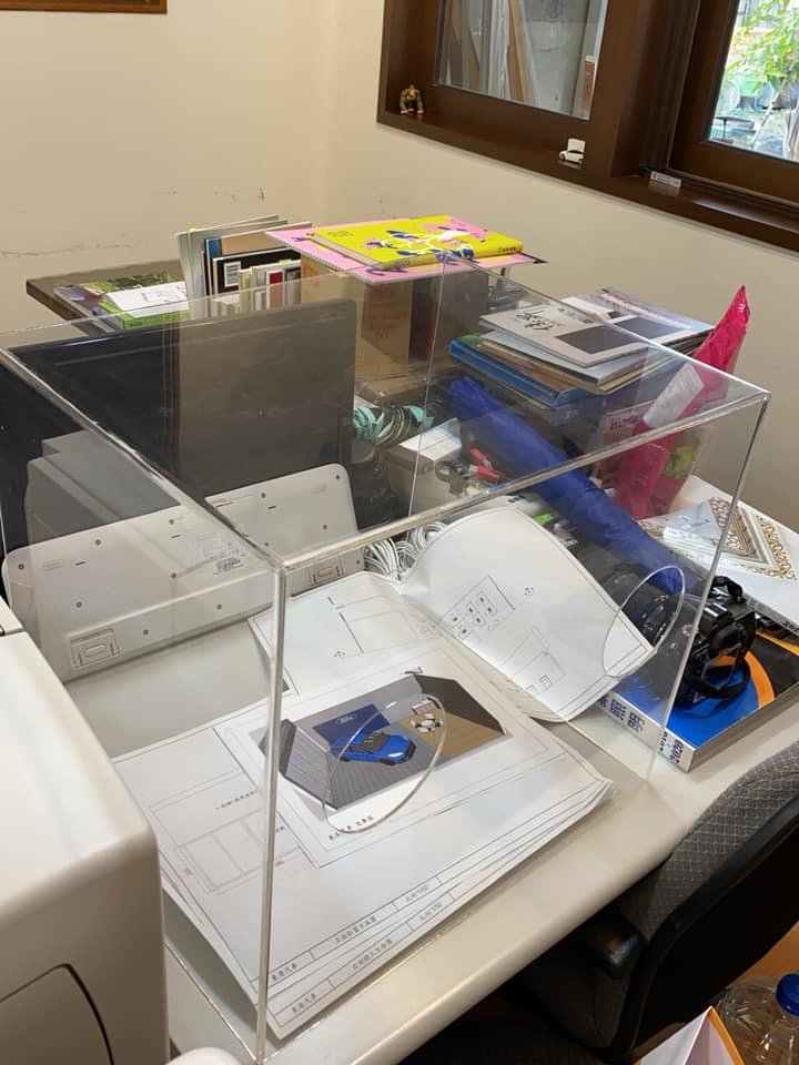 台醫生發明「武肺防護箱」 低成本「降低感染風險」無私分享設計圖!