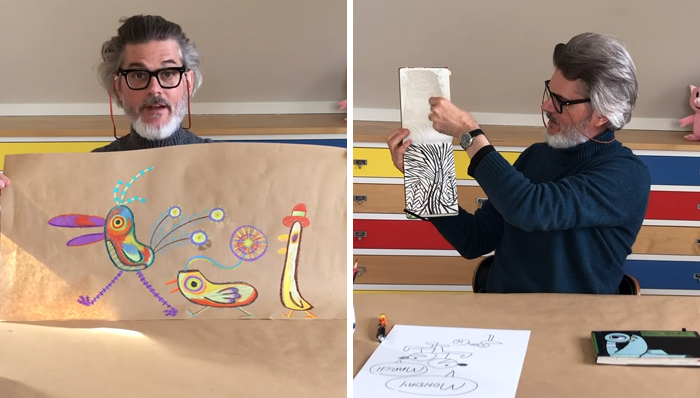 3億兒童受武肺影響!世界「最暢銷童書」作家決定在網路上「每天陪孩子畫畫」