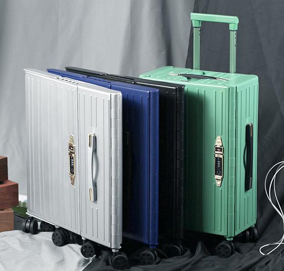 空間救星!超便利「折疊式行李箱」可塞進縫隙 厚度只有7公分