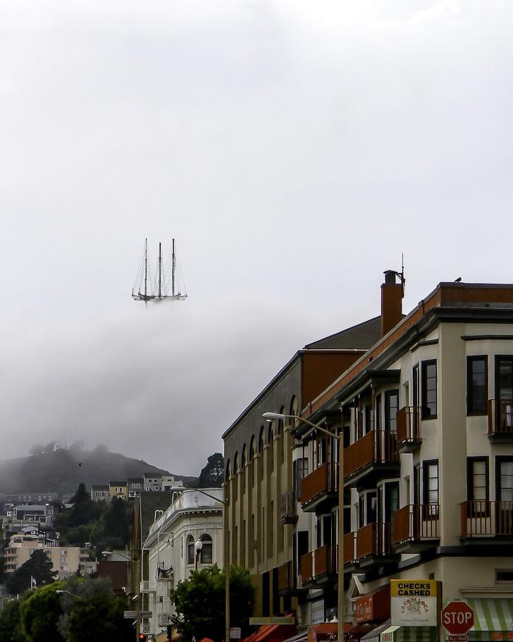 20張「比炮仔聲還drama」的照片 天空出現「鬼盜船」細節超明顯