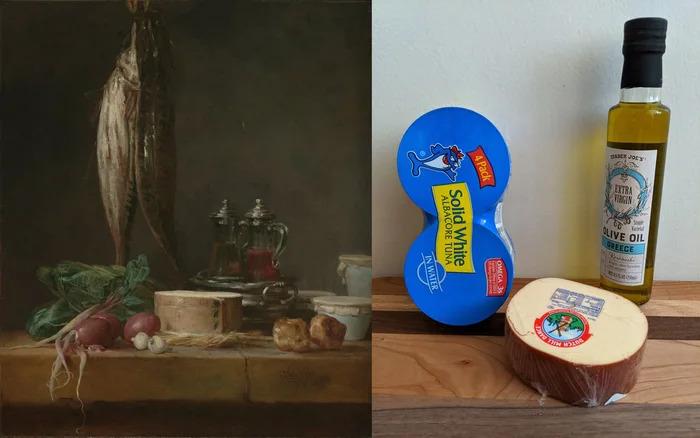 博物館發起用日常用品「重現經典畫作」挑戰 一捲衛生紙完成世界名畫!
