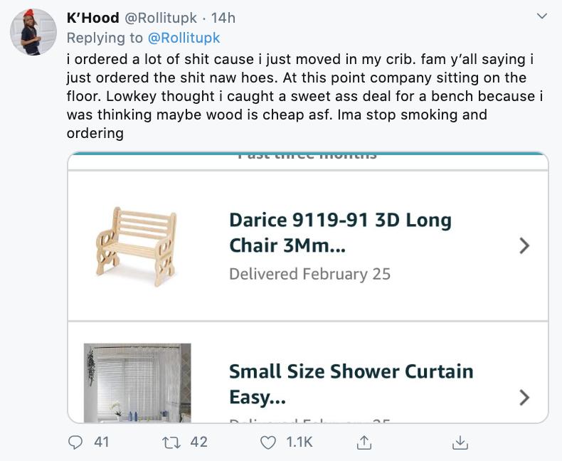 傻妹網購「60塊長凳」以為賺翻 實體「跟鼻子一樣大」網笑翻:不是人類用的!