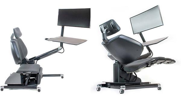 是床還是桌子?國外推出「懶人極致辦公桌」 網友讚爆:自願加班!