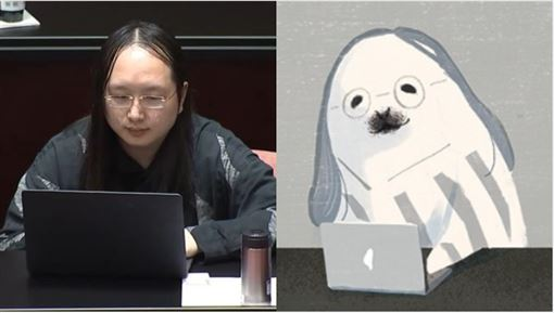 插畫家畫出「動物版防疫三巨頭」陳時中變身萌系海獺 唐鳳眼神太還原!