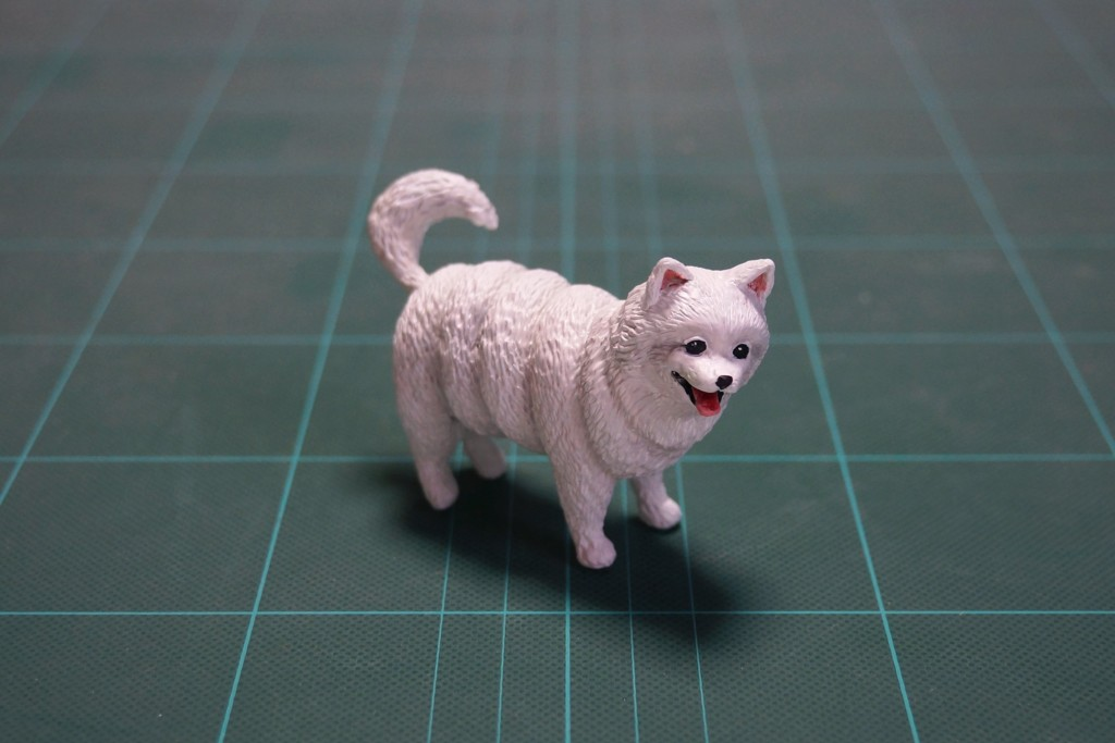 梗圖公仔大師做出3D版「白色螺旋狗」 螺旋拆開竟變「實用小物」!