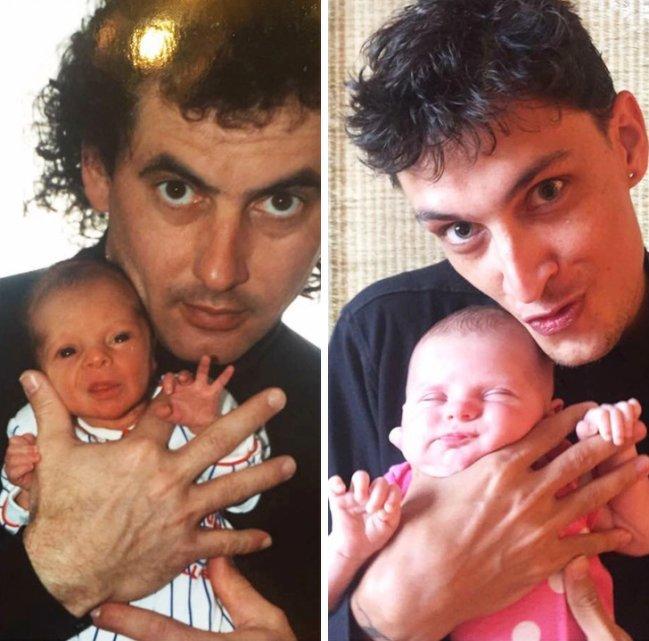 14張解釋「為什麼孩子是爸媽複製人」的驚人基因遺傳照