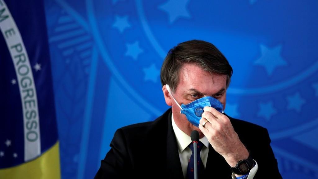 巴西總統稱「武肺只是小感冒」拒鎖國 州長要求「民眾在家隔離」他也不爽!
