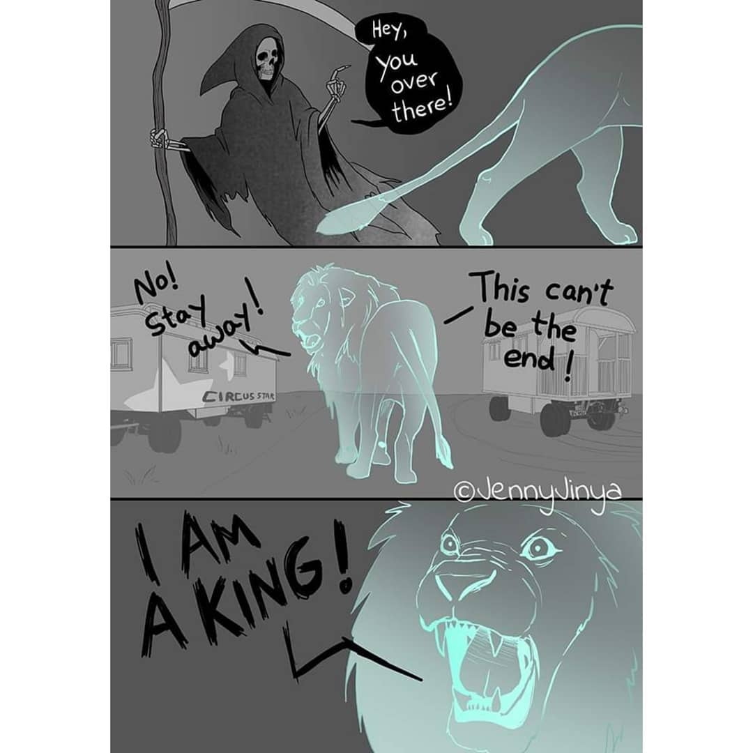死神到「馬戲團」完成叢林之王的「最後一個願望」:想找回我的尊嚴