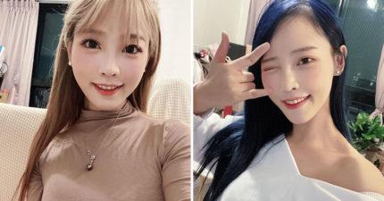 咪妃PO素顏運動照「眼睛小2倍」 網傻眼:女生都這麼騙?