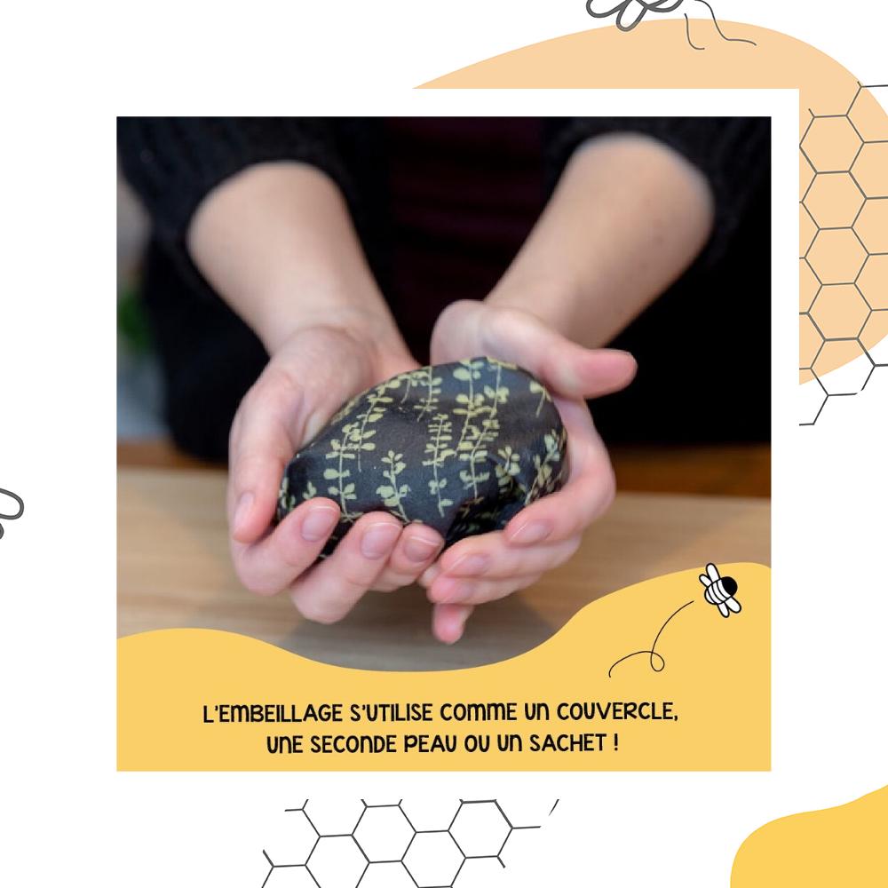 環保神器「蜂蠟紙」變硬就可以保鮮 發現竟然全靠運氣!