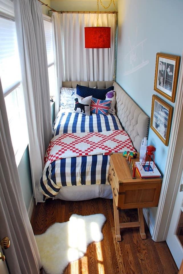 10個把「破爛陽台→小資女夢幻房」的完美改造 英倫文青風美得太浮誇❤
